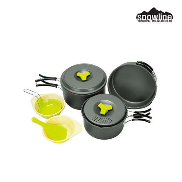 韓國戶外鍋具套裝 Outdoor Hard Andoizing Cookset 2-3 Assort
