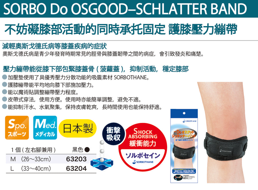 Do Osgood‐Schlatter's disease Band