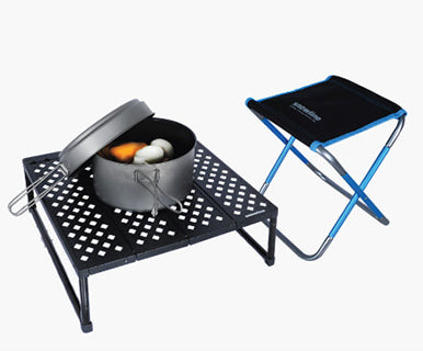Cube Ground Table Black