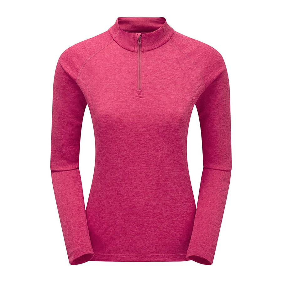 Women's Dart Zip Neck