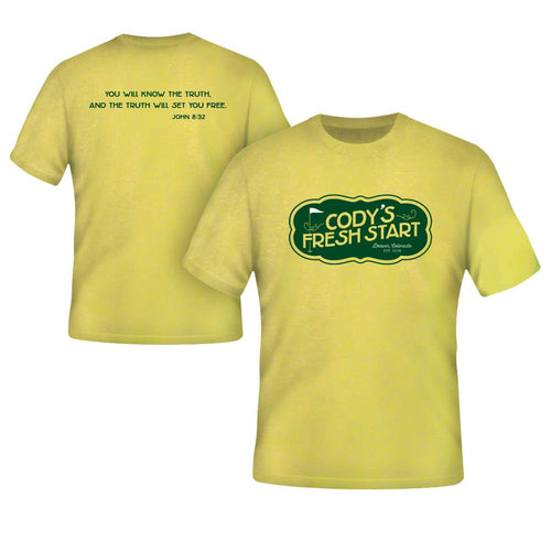 SHI - Short Sleeve T-Shirt Spring Yellow