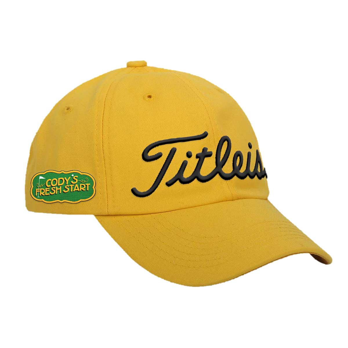 HAT - Titleist Golf Hat in Yellow – Cody s Fresh Start Charity Works 2f25a01f041