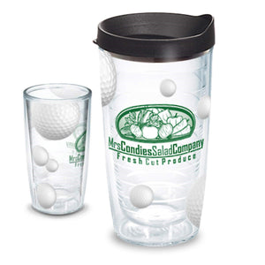 GOLF - Tervis 16 oz Clear Tumbler