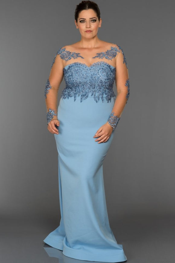 Jenny long sleeve evening dress