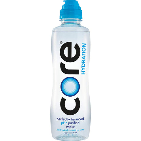 CORE Ultra-Purified Water With Electrolytes and Minerals - MULTIPLE SIZE OPTIONS - Vikn Sports