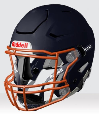 Riddell Speedflex Matte Navy Youth Helmet - Vikn Sports
