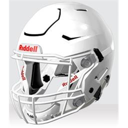 Riddell Speedflex White Football Helmet - Used