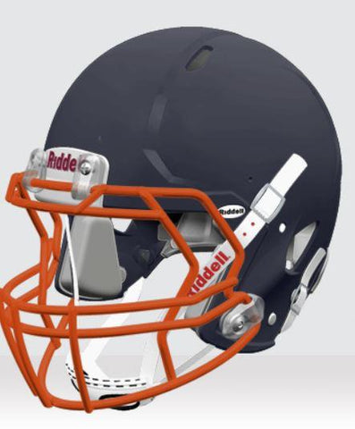Riddell Speed Matte Navy Youth Helmet - Vikn Sports