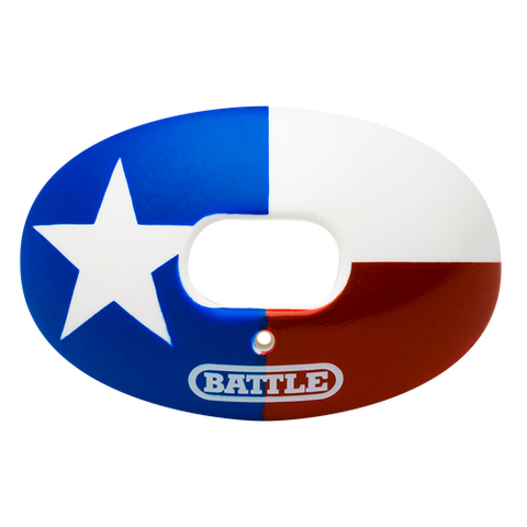 Battle Oxygen Texas Flag Mouthguard - Vikn Sports