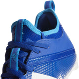 adidas Adizero Scorch Men's White & Royal Blue Football Cleat