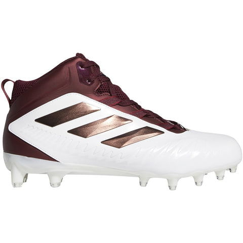 adidas Nasty 20 Men's Maroon & White Football Cleat