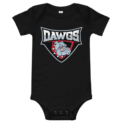 Dawgs Baby short sleeve one piece