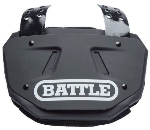 Battle Black Football Back Plate - Youth - Vikn Sports