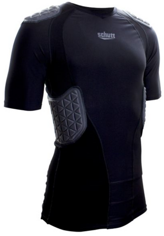 Schutt Black Youth Pro Tech Compression Shirt - Vikn Sports