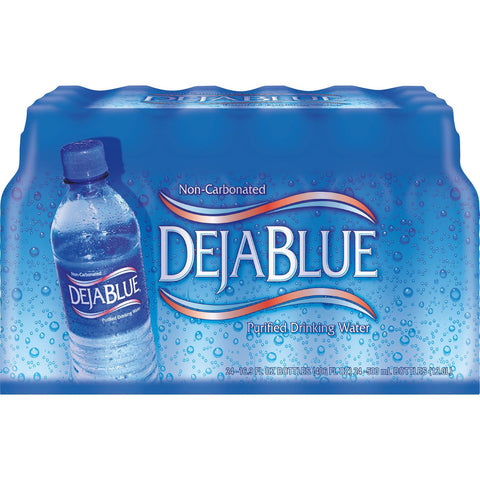 Deja Blue Purified Drinking Water 24 Pack Case - .5 Liter Bottles - Vikn Sports