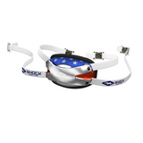 Shock Doctor Ultra Pro Showtime Chrome Flag Hard Chin Strap - Vikn Sports