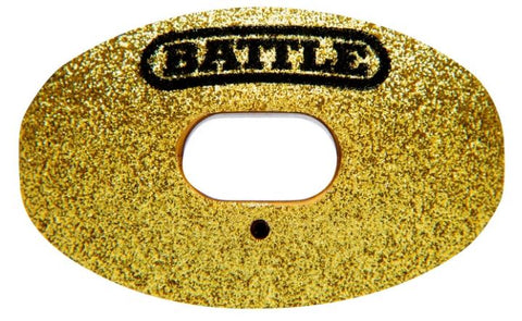 Battle Oxygen Gold Glitter Limited Edition Mouthguard - Vikn Sports
