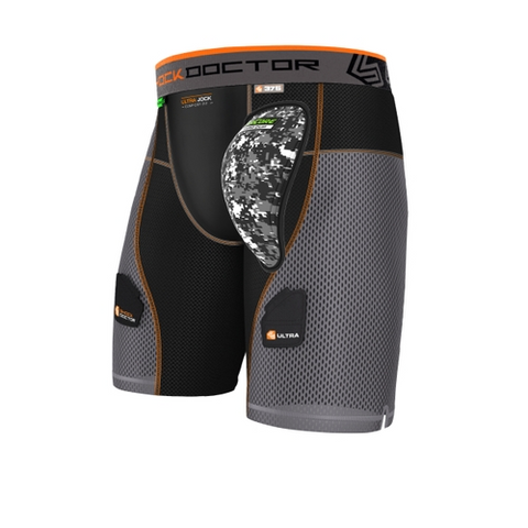 Shock Doctor AirCore Ultra PowerStride Hockey Short with AirCore Hard Cup - Vikn Sports