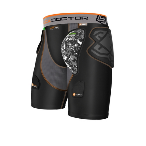 Shock Doctor AirCore Ultra ShockSkin Compression Hockey Short with AirCore Hard Cup - Vikn Sports