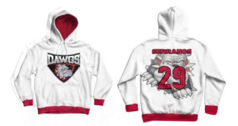 Dawgs Custom Hoodie - Vikn Sports
