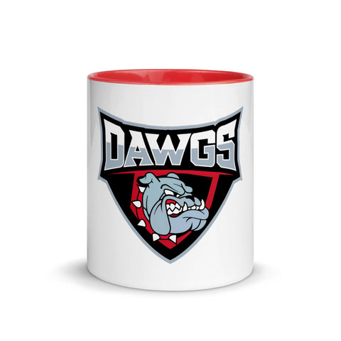 Dawgs Mug with Color Inside - Vikn Sports