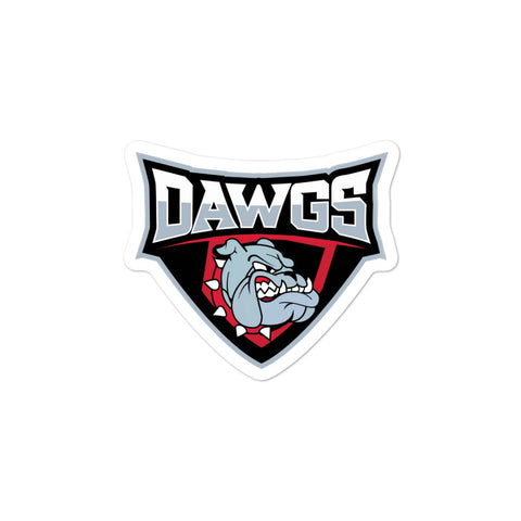 Dawgs Bubble-free sticker - Vikn Sports