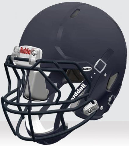 Riddell Victor Matte Navy Blue Youth Helmet - Vikn Sports