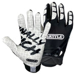 Battle Ultra-Stick Finally Rich Youth Football Receiver Gloves - Vikn Sports