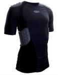 Schutt Black Varsity Pro Tech Compression Shirt - Vikn Sports