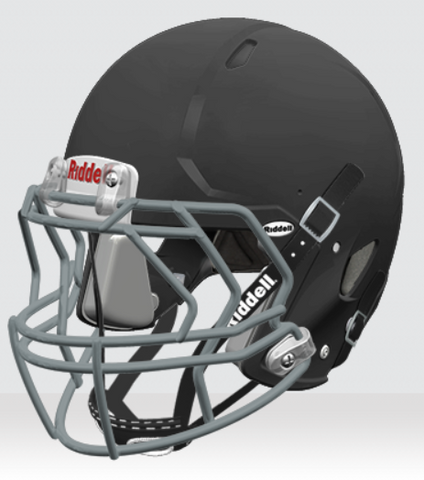 Riddell Victor - Custom Four Points Youth Football Helmet - Vikn Sports