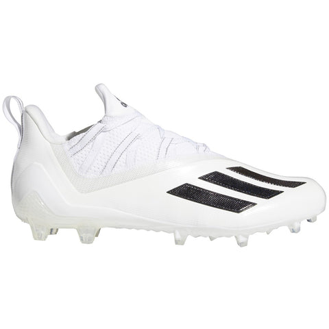 adidas Adizero White & Black Men's Football Cleat