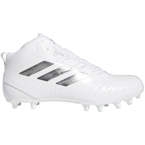 adidas Nasty Fly 2E Wide Fit Mens White Football Cleat