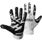Battle Ultra-Stick Finally Rich Youth Football Receiver Gloves - MULTIPLE OPTIONS