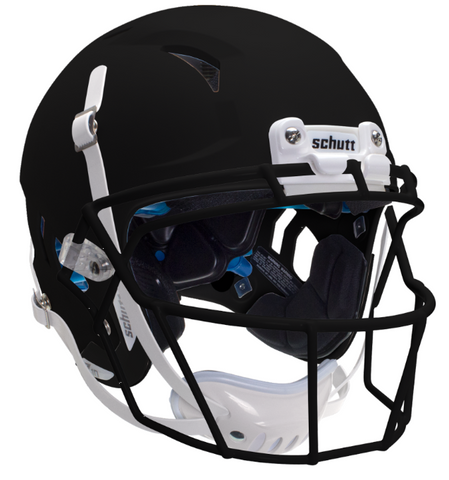Schutt Vengeance Z10 Matte Black Youth Helmet - Vikn Sports
