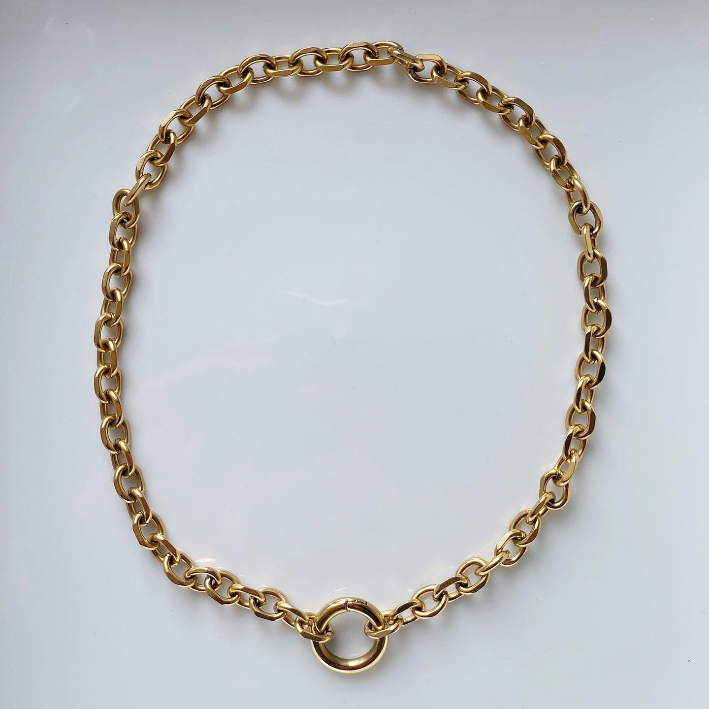 AGNES x RING CHUNKY NECKLACE