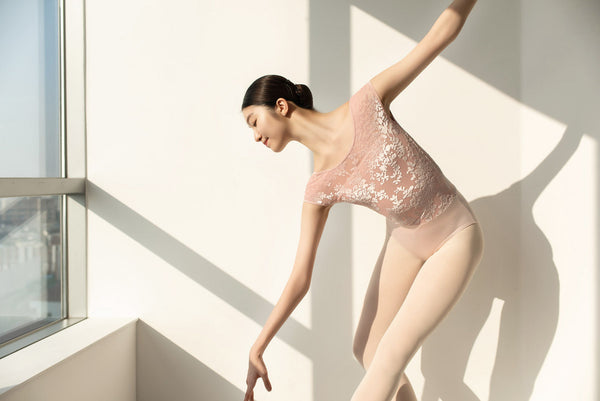 The Sissone Wear Aeonian Purity Ballet Baby Pink Leotard is available from Ma Cherie Dancewear Australia.