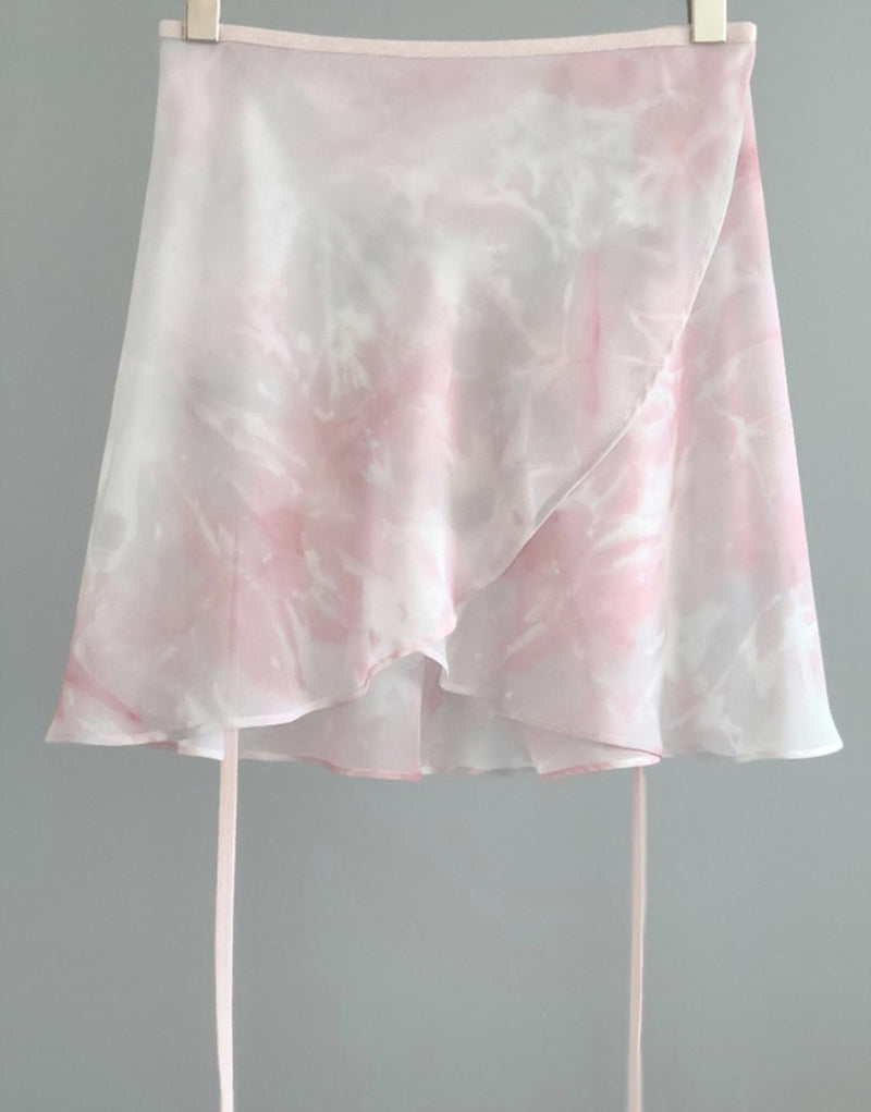 Baby Pink Chiffon Wrap Skirt for ballerinas - available from Ma Cherie Dancewear
