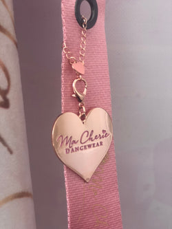 Rose Gold Heart Charm by Ma Cherie Dancewear Australia