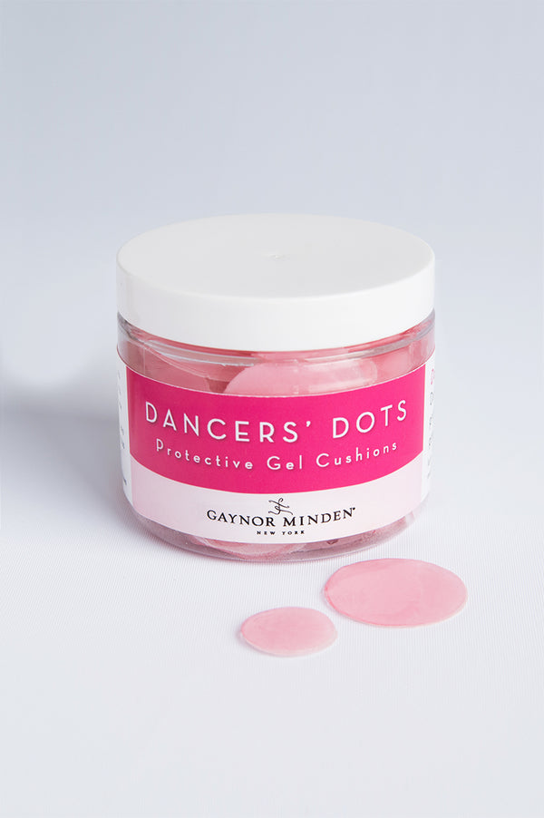 Dancer's Dots Protective Gel Cushions packet for Ballerinas from Gaynor Minden