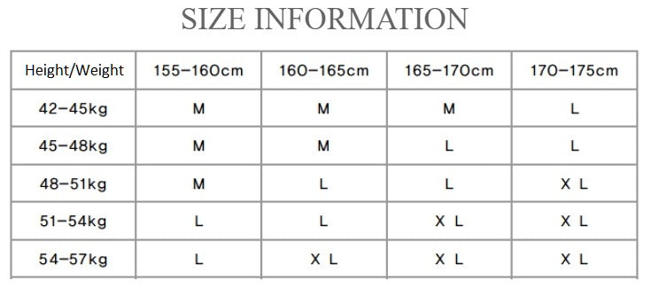 Square Rouge Ballet Leotard size chart from Ma Cherie Dancewear Australia