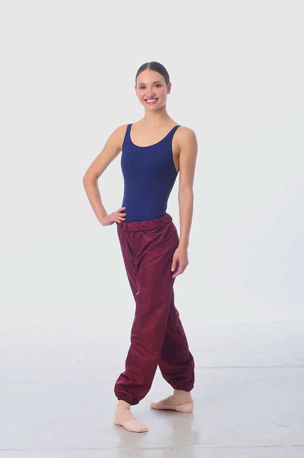 Gaynor Minden Microtech Warmup Pants - Mulberry - Ma Cherie Dancewear Australia