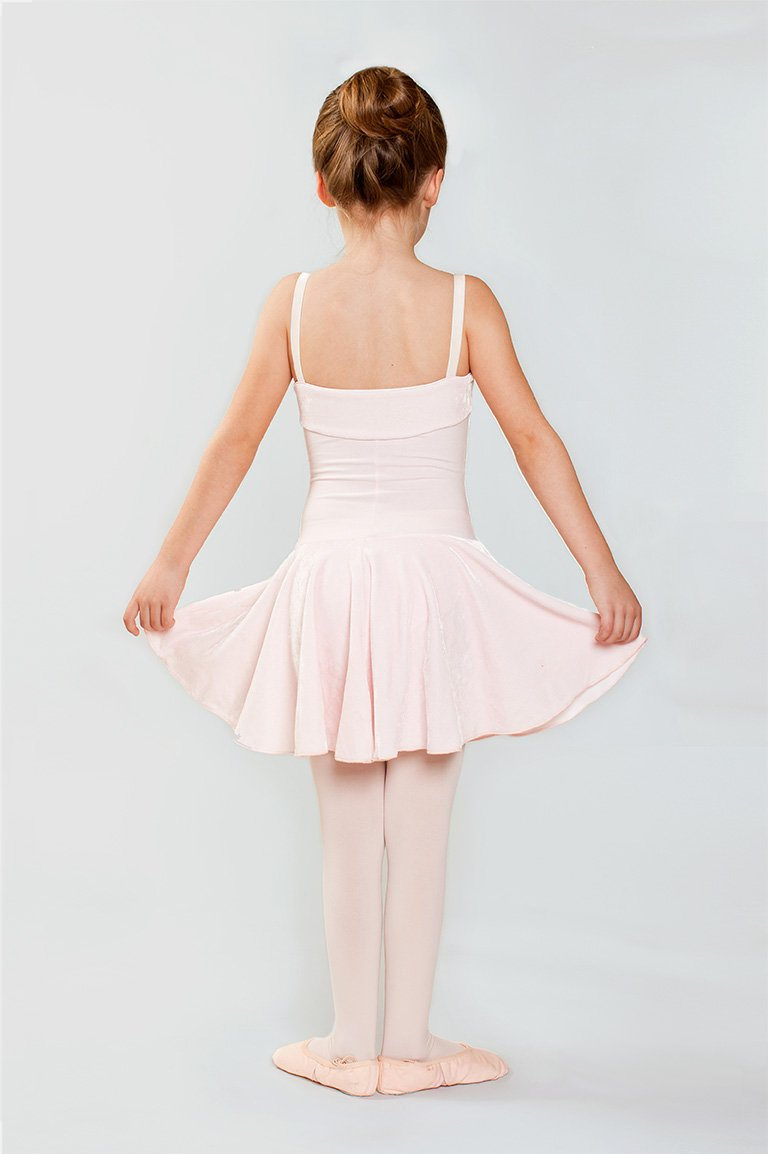 Child Light Pink Dance Leotard by Gaynor Minden - Ma Cherie Dancewear Australia