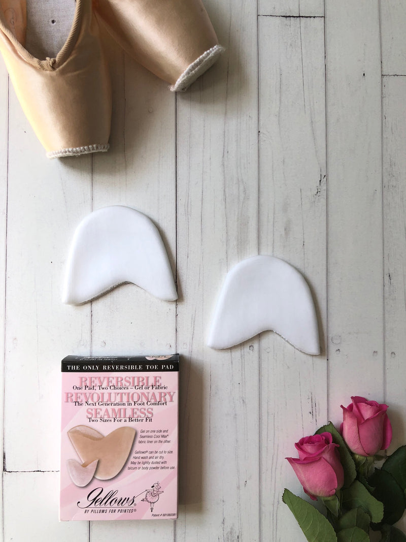 Pillows for Pointes Gellows Pointe Shoe Pads Ballet Accessories and Dancewear Australia