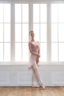 Square Rouge Rose Ballet Leotard from Ma Cherie Dancewear Australia