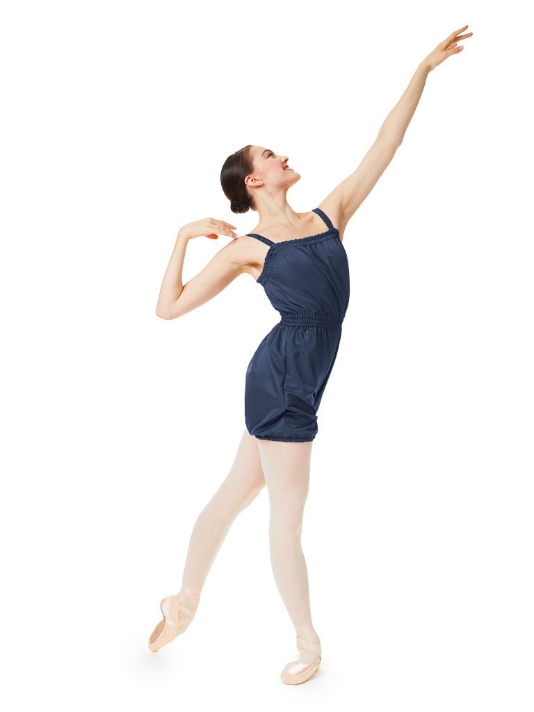 Gaynor Minden Micro-Tech Romper - Black available from Ma Cherie Dancewear Australia
