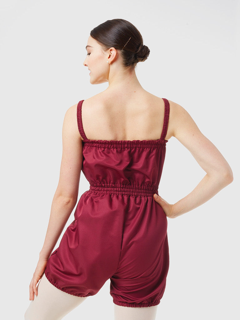 Gaynor Minden Micro-Tech Romper - Mulberry available from Ma Cherie Dancewear Australia