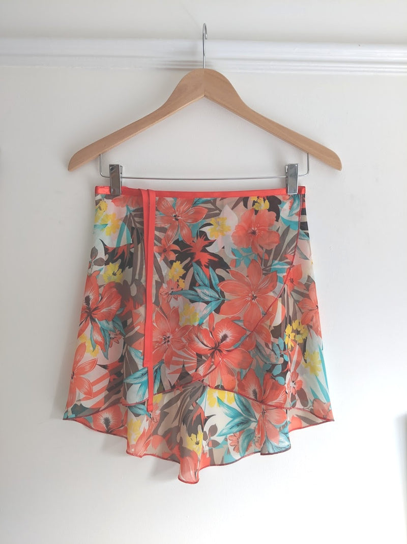 Tropicana Ballet Wrap Skirt from Lucinda - available from Ma Cherie Dancewear Australia