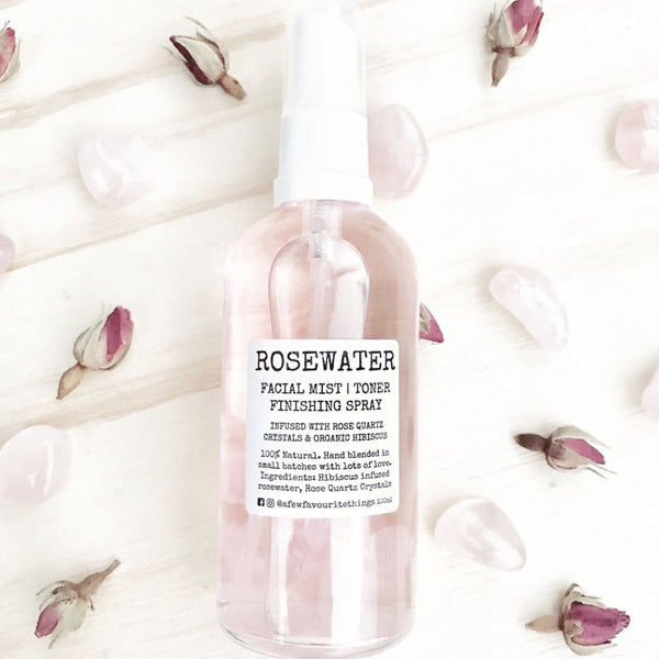 Crystal Infused Rosewater Facial Mist - Ma Cherie Dancewear Australia
