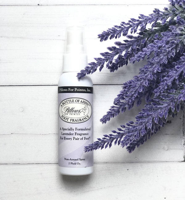 Lavender Foot and Shoe Spray for dancers - Ma Cherie Dancewear Australia