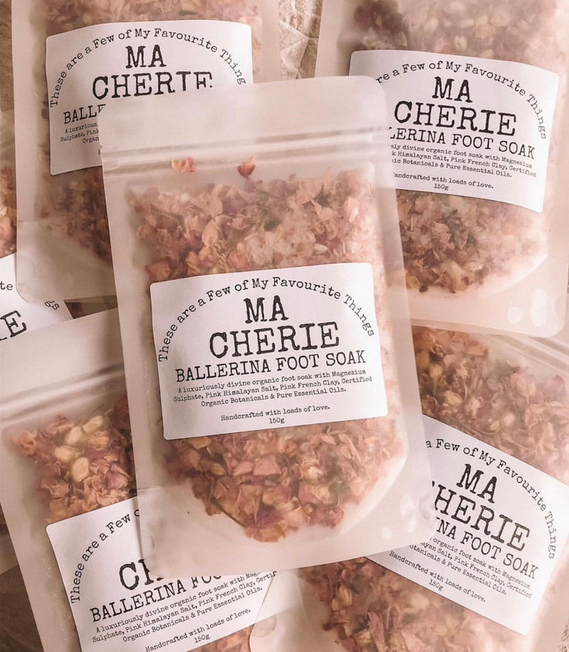 Organic Foot Soak for Dancers - Ma Cherie Dancewear Australia